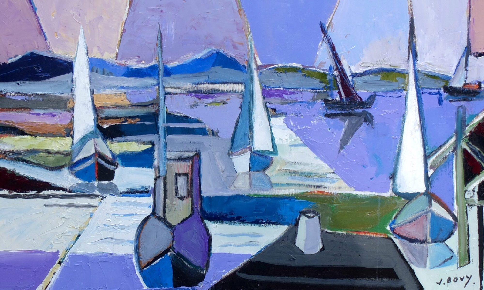 Jacques Bovy, Artiste Peintre